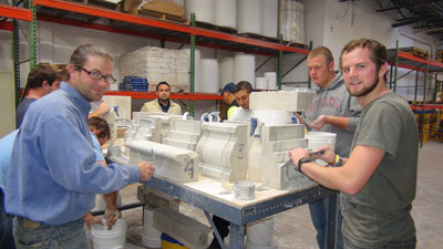 Training at our facility in Hanover, Maryland